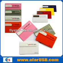 Bulk cheap any logo printing promotion gift card usb, credict card usb, card usb flash drive