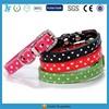 Polka dot dog collar wholesale China manufacturer