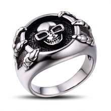 wholesale prices stianless steel jewelry skull fashion ring