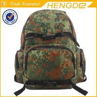 Multifunction military camo backpack bag high quality outdoor equipment