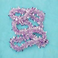 PET/PVC wholesale christmas decoration angel hair christmas decoration christmas tinsel garland