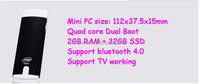 Mini computer Intel 3735F Quad Core 1.8GHz windows 8.1 for quad core 1.8ghz tablet