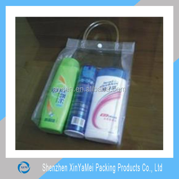 clear packing pouch for travel