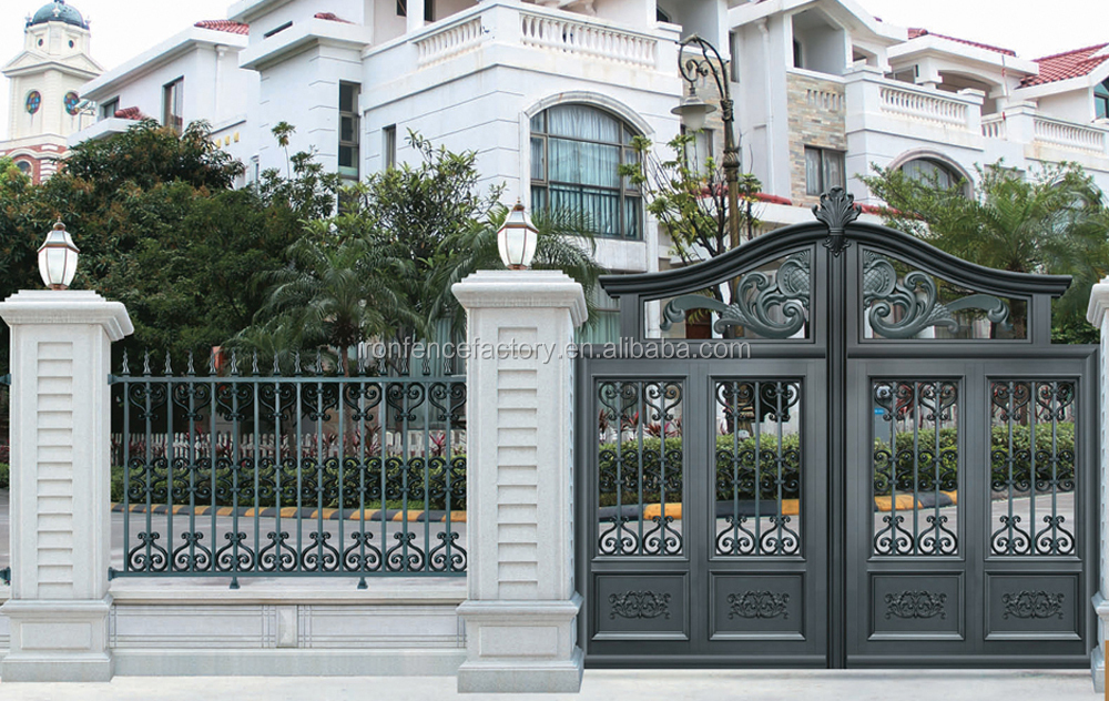 2016 latest new products on alibaba aluminum latesd main for Indoor gate design