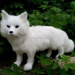 unique gift lifelike artificial plush white husky