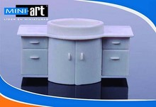 model building interior accessories model material Dresser 1:30