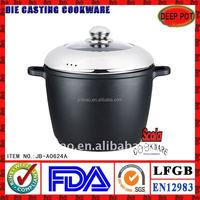 24cm die casting aluminum stock pot
