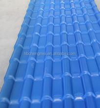Easy installing ASA coated spanish PVC roof tile/ synthetic resin roof tile/ spanish tile