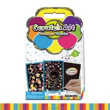 Hot Sale Fun Kids Black Craft Material Scratch Paper