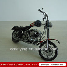 USA antique metal motorcycle model