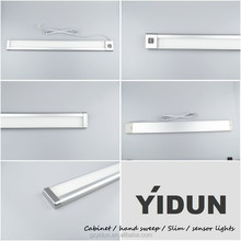 Popular dimmable Led sensor under kitchen cabinet light/LED hand sensor wardrobe light/LED sensor cabinet light