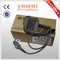 Retail portable interphone SM08M3 Handsfree Mic for HYT TC-700 mic