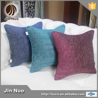 2015 new style wholesale chenille fabric with jacquard cushion cover