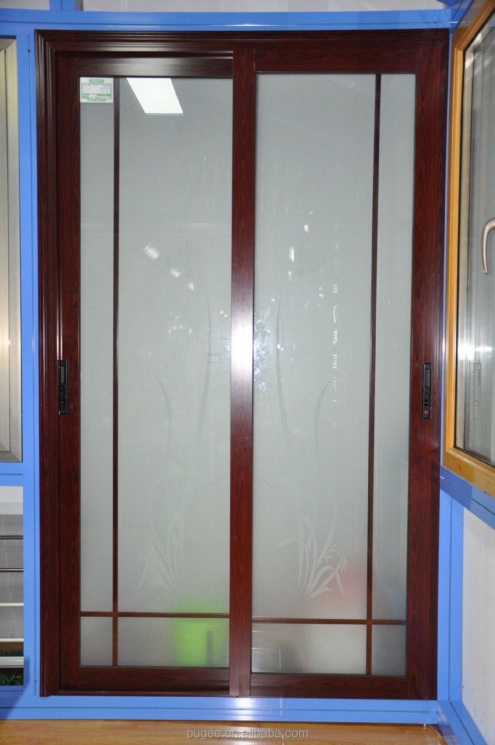 Alum shower doors dogs cuteness homes lowes sliding glass for Aluminum sliding glass doors price
