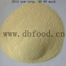 NEW Dry Garlic granule 40-80 mesh dried vegetable product