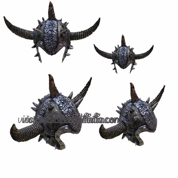 Motorcycle Helmet With Bull Horns Helmet Bull Horns