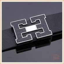 2015 New Arrival Automatic Buckle Men's Genuine Leather Belt For Man