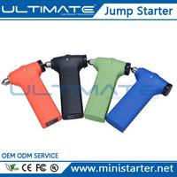 Ultimate 14000 mAh Mini Car Emergency Hammer Jump Starter Power Bank Can Start Car Jump Starter