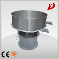 High efficiency slurry rotary vibrating screen