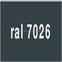 Epoxy/Polyester Resin RAL7026 Granite grey powder coating