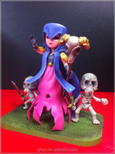 Anime COC Clash of Clans the Witch Figure Toy 17CM PVC Action Sexy Figure Model Toy