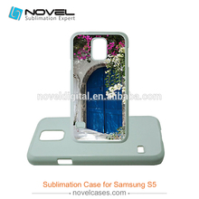 Hot Selling Sublimation Plastic Phone Case For Samsung S5