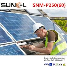 price per watt polycrystalline silicon solar panel 250wp
