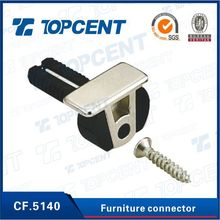 CF.5140 Zinc alloy and plastic cabinet furniture hardware connector