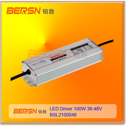 constant current led power supply 100w 36V 48V IP67 dimmable led driver for led lighting