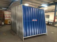 SHEET HOARDING CORRUGATED, SITE PERIMETER FENCE PANELS UAE Suppliers / Contractors, Galvanized (GI) , Aluminium , 0.5mm / 0.7mm