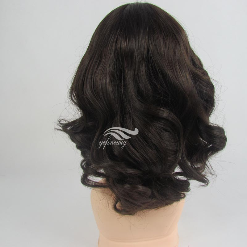 Human Hair Wig Cancer 80