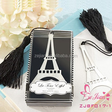 """Wedding Favors Event Gift Party Supplies Baby Shower Gifts """"Romantic Eiffel Tower """" Shaped Metal Bookmark Favors"""