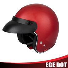 Top design carbon fiber half face helmet