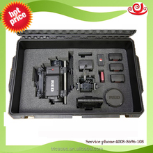 Shanghai OEM/ODM factory Tricases rugged high impact waterproof and anti-shock camera case with foam