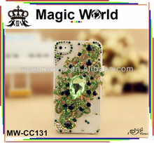 Luxury elegant Angel Tears crystal diamond mobile phone case for i phone 6