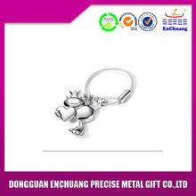 Economic new products custom metal keychain in zinc alloy