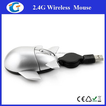 Airplane Shaped Mouse Mini Drivers USB Optical Mouse For Macbook