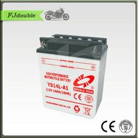 12v 14ah Maintenance Free Motorcycle Battery YB14L-A1
