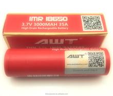 AWT 18650 battery ,high capacity lithium ion battery cell 18650, 18650 foto model indonesia bugil panas telanjang seksi