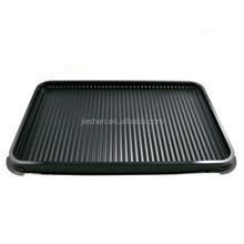 High quality plastic anti-slip rectangle airline serving food tray