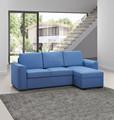 Ikea estilo I em forma de canto sofá cama de Foshan fábrica