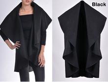 DY1066W 2015 Wholesale Latest Autumn Fashion Lady Noble Elegant Wool Cape Poncho Coat
