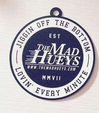 2015 round shape special hole 350gms matt type paper hangtag for garment