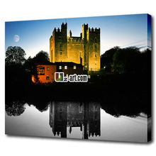 Famous place pictures printed canvas for wall decoration