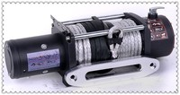 Electirc winch of 9500LB Power tools Used SUVs/trucks/tractors/fishing boat winch 9500lbs offroad winch for sales made in china