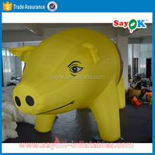 outdoor giant inflatable pig inflatable cartoon