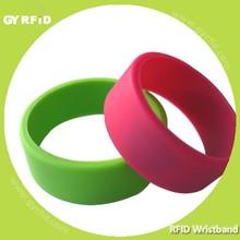 WRS12 Alien Higgs 3 GEN2 rfid Silicon wristband for Gym center ( GYRFID )