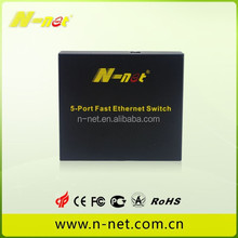 low price 5 port fast ethernet poe switch 4 poe port