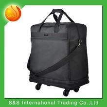 New desigh tiebarless large capacity foldable travel bag organizer