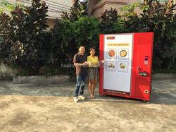 hot dog and fresh bread vending machine